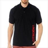 T-Shirt Polo Siyah SlimFit - Citroen-2