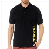 T-Shirt Polo Siyah SlimFit - Citroen-3