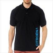 T-Shirt Polo Siyah SlimFit - Citroen-4