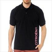 T-Shirt Polo Siyah SlimFit - Citroen-5