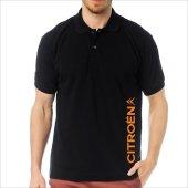 T-Shirt Polo Siyah SlimFit - Citroen-7