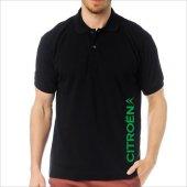 T-Shirt Polo Siyah SlimFit - Citroen-8