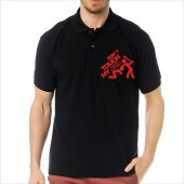 T-Shirt Polo Siyah SlimFit - Dont Touch My Audi-2