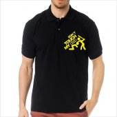 T-Shirt Polo Siyah SlimFit - Dont Touch My Audi-3