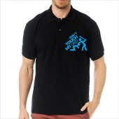T-Shirt Polo Siyah SlimFit - Dont Touch My Audi-4