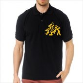T-Shirt Polo Siyah SlimFit - Dont Touch My Audi-6