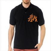 T-Shirt Polo Siyah SlimFit - Dont Touch My Audi-7