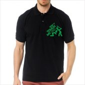 T-Shirt Polo Siyah SlimFit - Dont Touch My Audi-8