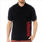 T-Shirt Polo Siyah SlimFit - Ferrari-2