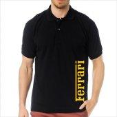 T-Shirt Polo Siyah SlimFit - Ferrari-6