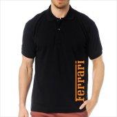 T-Shirt Polo Siyah SlimFit - Ferrari-7
