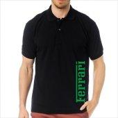 T-Shirt Polo Siyah SlimFit - Ferrari-8