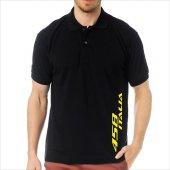 T-Shirt Polo Siyah SlimFit - Ferrari 458 İtalia-3