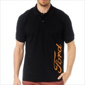 T-Shirt Polo Siyah SlimFit - Ford-6