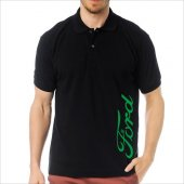 T-Shirt Polo Siyah SlimFit - Ford-7