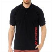 T-Shirt Polo Siyah SlimFit - Hyundai-2