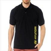 T-Shirt Polo Siyah SlimFit - Hyundai-3