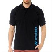 T-Shirt Polo Siyah SlimFit - Hyundai-4