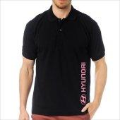 T-Shirt Polo Siyah SlimFit - Hyundai-5