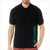 T-Shirt Polo Siyah SlimFit - Hyundai-7