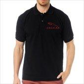 T-Shirt Polo Siyah SlimFit - Jaguar-2