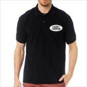 T Shirt Polo Siyah Slimfit Land Rover