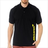 T-Shirt Polo Siyah SlimFit - McLaren-3