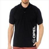 T-Shirt Polo Siyah SlimFit - Opel
