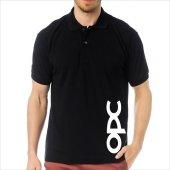 T Shirt Polo Siyah Slimfit Opel Opc