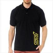 T-Shirt Polo Siyah SlimFit - Subaru STİ-3