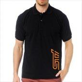 T-Shirt Polo Siyah SlimFit - Subaru STİ-6