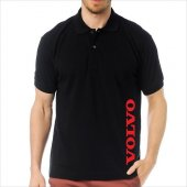 T-Shirt Polo Siyah SlimFit - Volvo-2