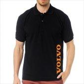 T-Shirt Polo Siyah SlimFit - Volvo-6