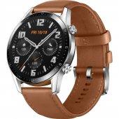 Huawei Watch GT2 46mm Sport Akıllı Saat / Kahverengi-5