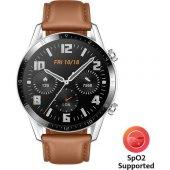 Huawei Watch GT2 46mm Sport Akıllı Saat / Kahverengi-7