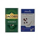 Jacobs Monarch Filtre Kahve 500 Gr + Filtre...