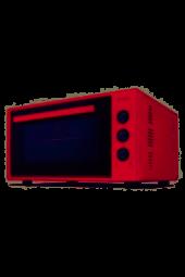 Itimat 8030 Çift Camlı 50 Lt Bordo Midi Mini Fırın Yeni Ürün