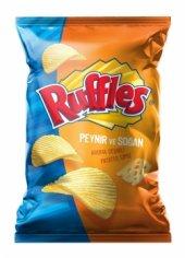 Ruffles Süper Boy Peynir Ve Soğan Aroma Çeşnili Patates Cipsi 109gr