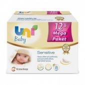 Uni Baby Sensitive Islak Mendil 12li Mega Paket 672 Yaprak