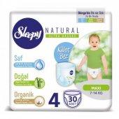 Sleepy Natural Külot Bez 4 Beden Maxi 30 Adet