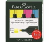 Faber Castell Textliner Fosforlu Kalem 3+1