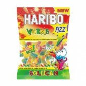 Haribo Fızz Worms (Ekşi Solucan) 24lü