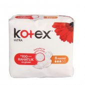 Kotex Ultra Tekli Paket Normal 8li Paket 24lü