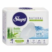 Sleepy Natural Ultra Hassas Tekli Normal 8li Paket 24lü