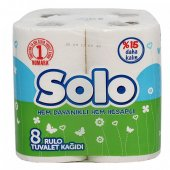 Solo Tuvalet Kağıdı 8li 6lı