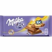 Milka Tablet Tuc Çikolata 87gr 18li Paket...