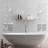 Dekoratif Duvar Dekorasyon Geometrik Desen Ayna Pleksi