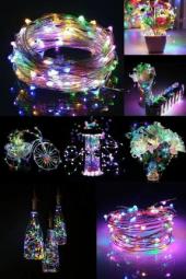 Peri Led Işık 3 Metre (Rgb), Dekoratif Led Işık...