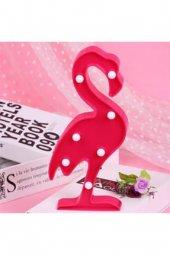 Dekoratif 3d Sevimli Flamingo Led Lamba Pano