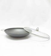 Bonera Chef's Granit Efektli 32cm Kavurma Tenceresi/Sacı
